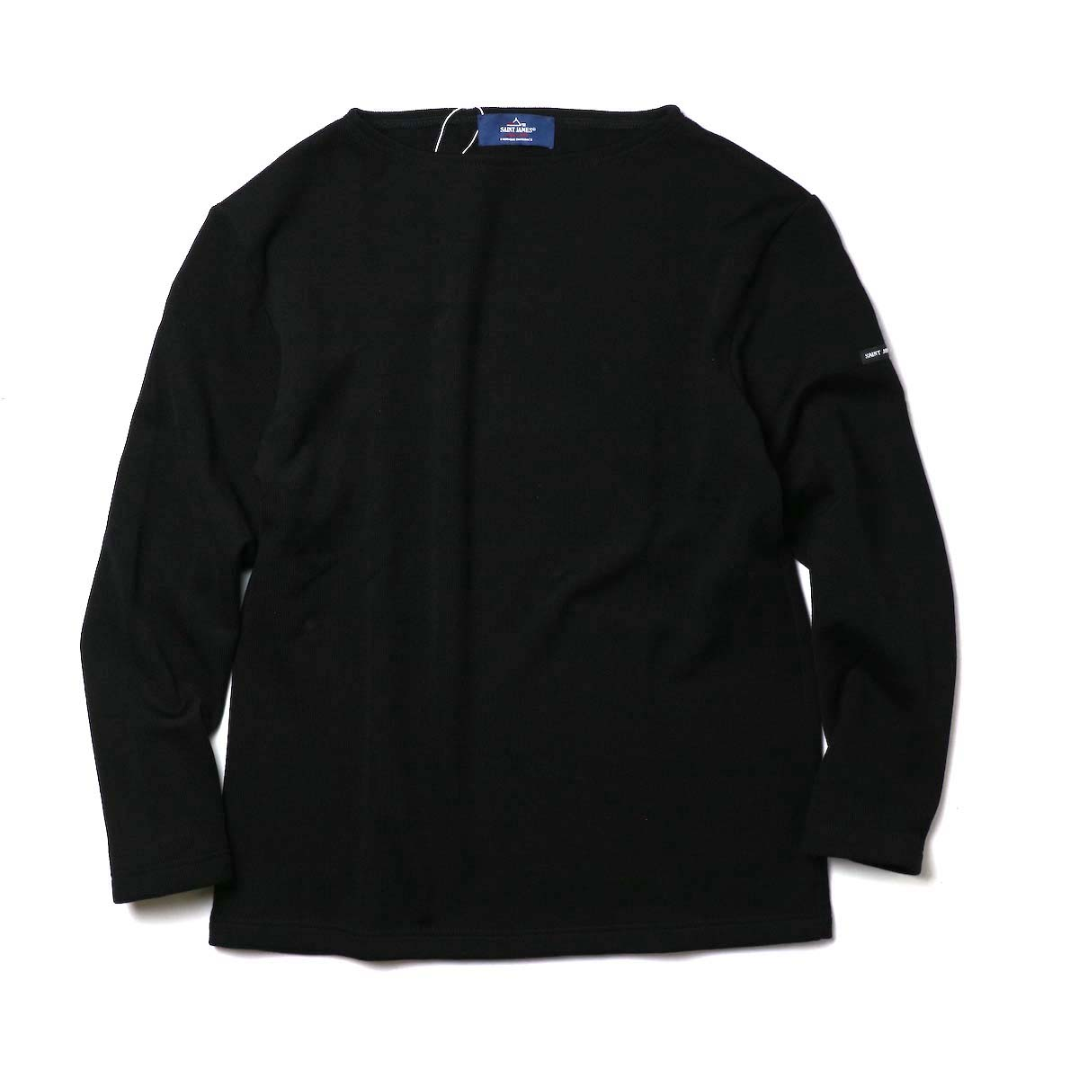 SAINT JAMES / DOUBLEFACE SWEATER (Black)