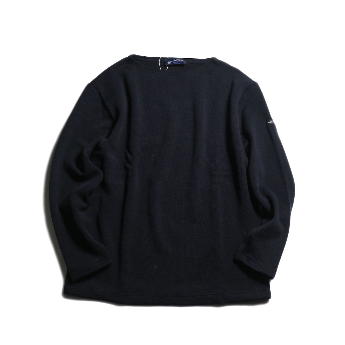 SAINT JAMES / DOUBLEFACE SWEATER (Navy)