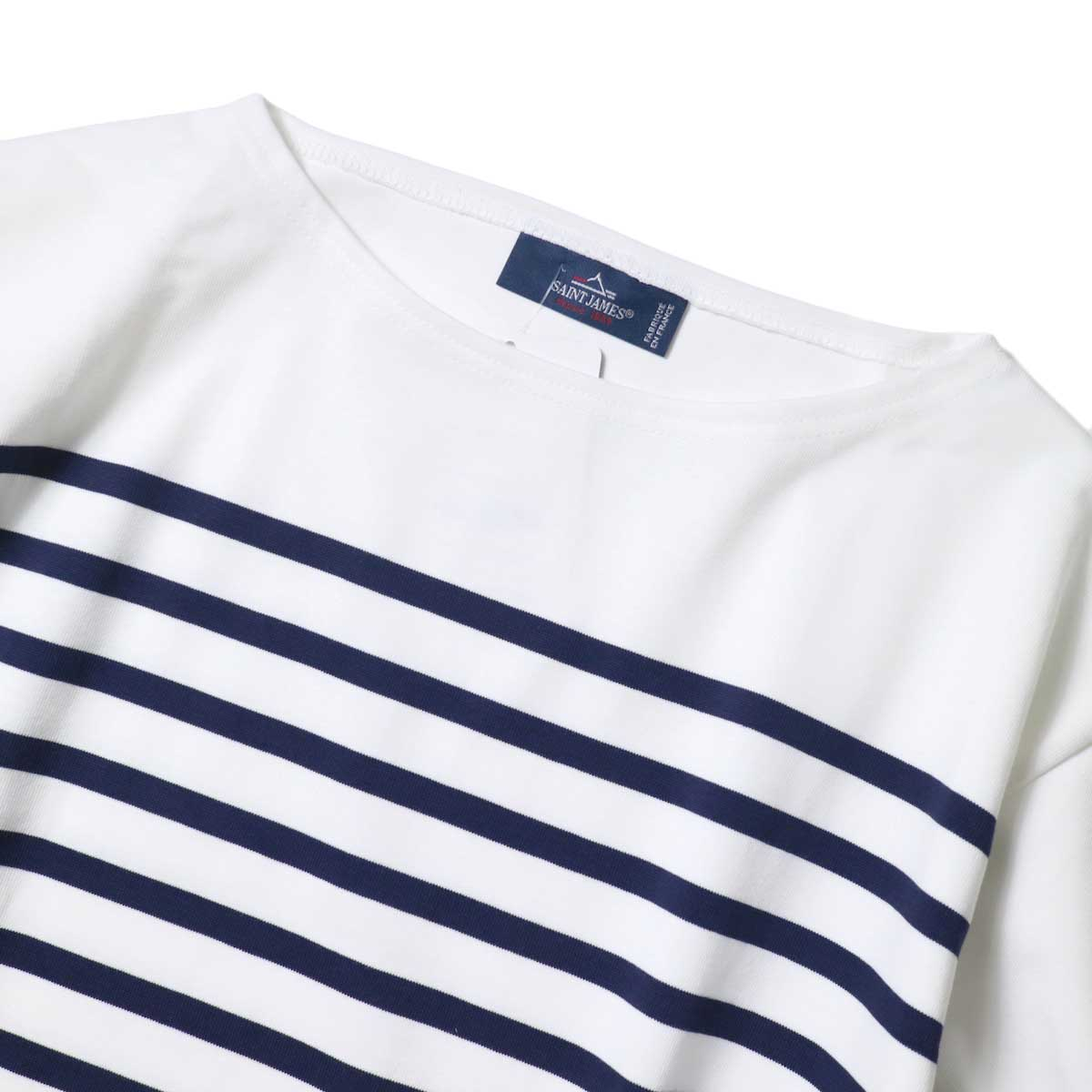 SAINT JAMES / NAVAL (Neige / Marine) 襟
