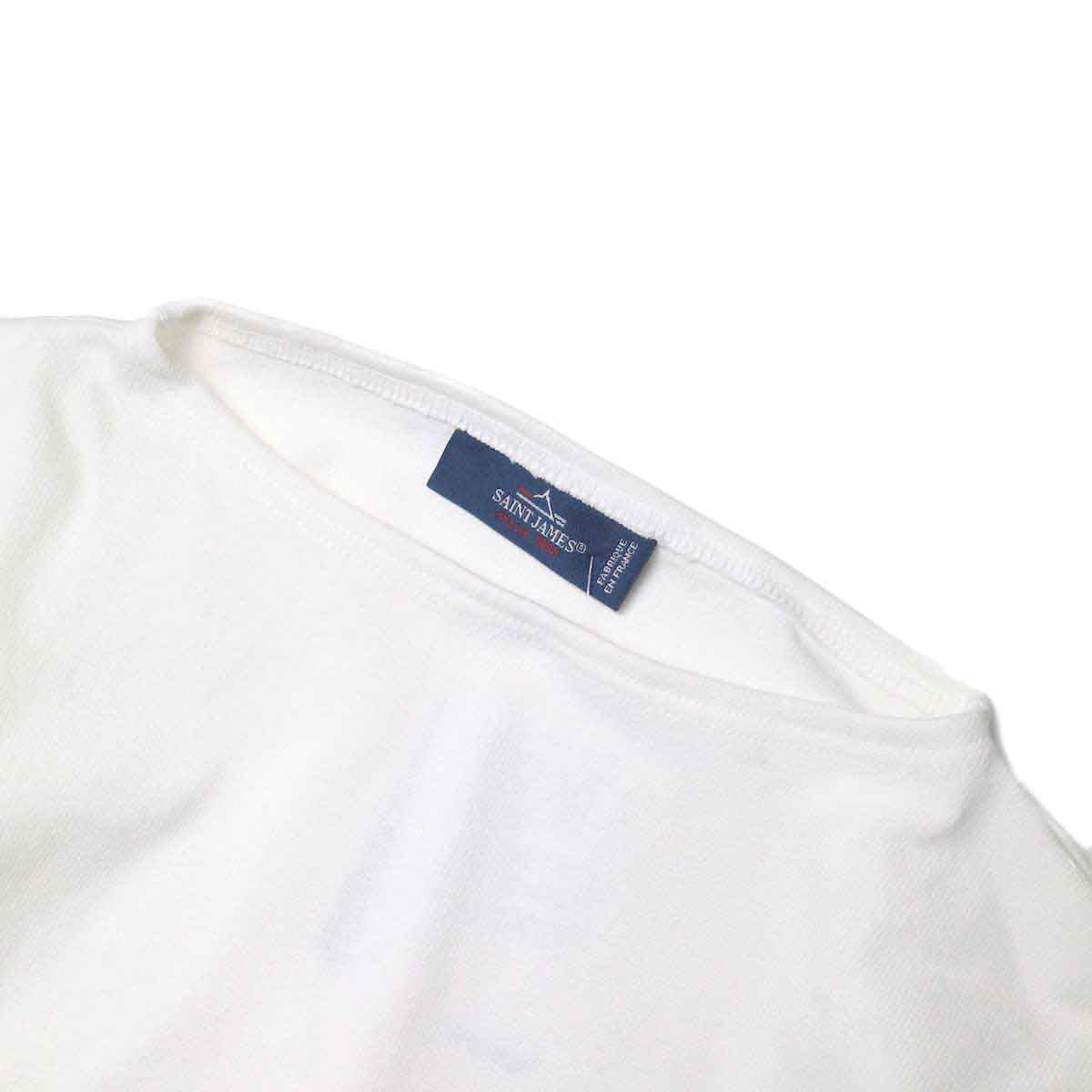 """SAINT JAMES / OUESSANT """"SOLID"""" (Neige) ボートネック、色"""