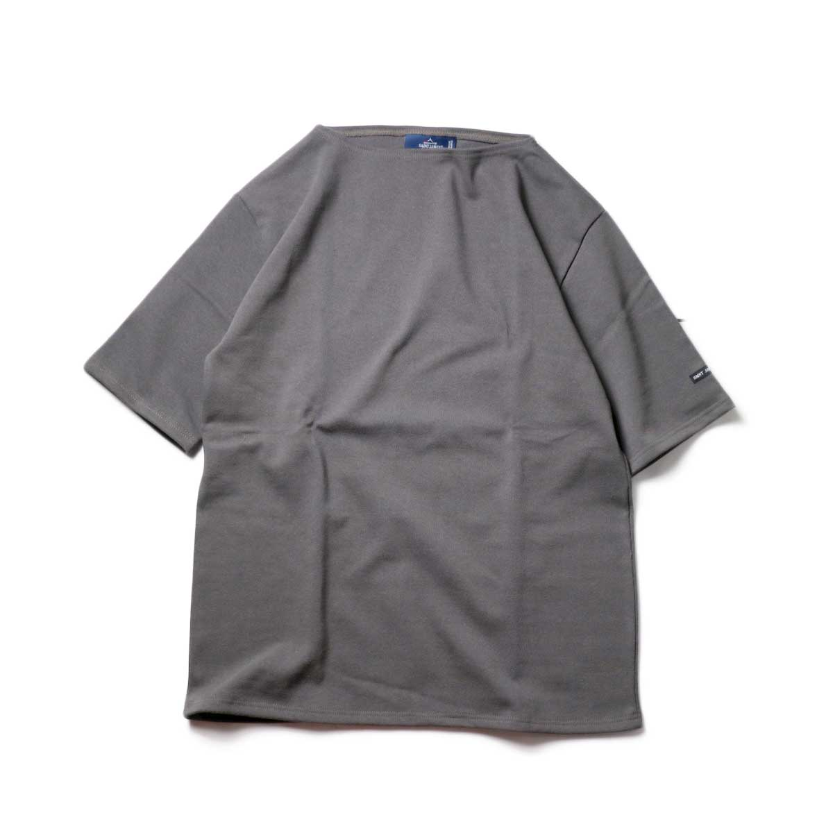 SAINT JAMES / OUESSANT SHORT SLEEVE SHIRTS (Taupe)