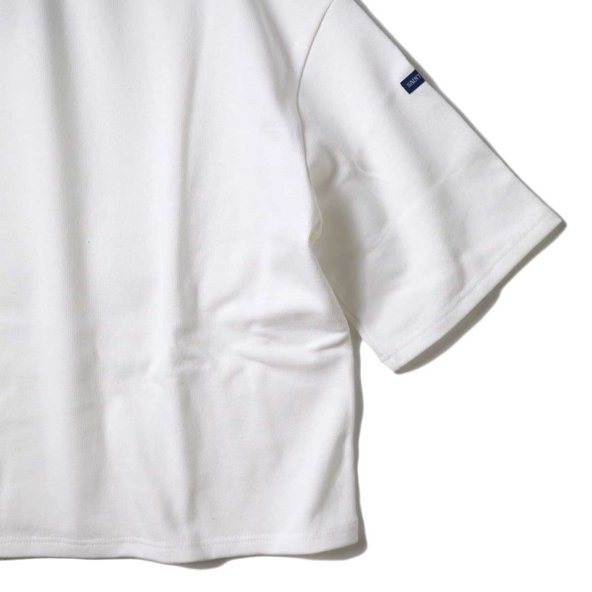 SAINT JAMES / OUESSANT SHORT SLEEVE SHIRTS (Neige) 裾・袖