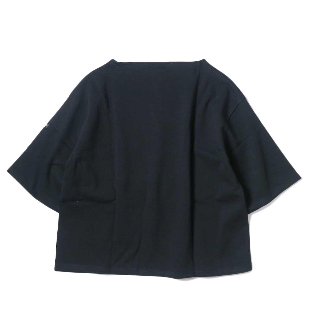SAINT JAMES / OUESSANT SHORT SLEEVE SHIRTS (Noir) 背面