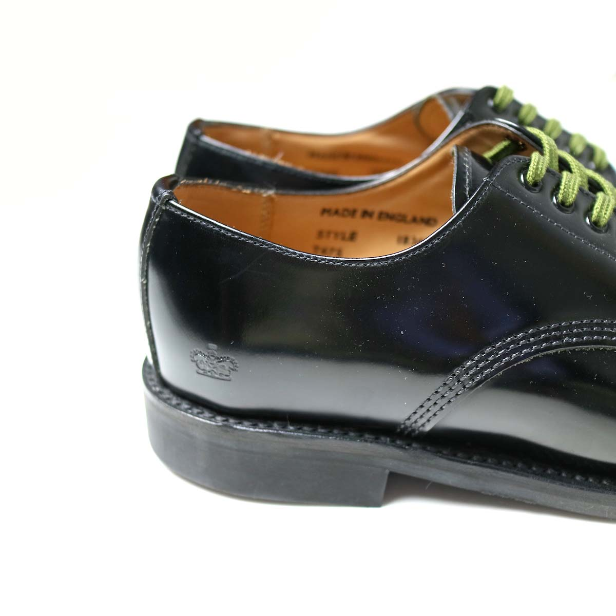 SANDERS / Military Derby Shoe ヒール