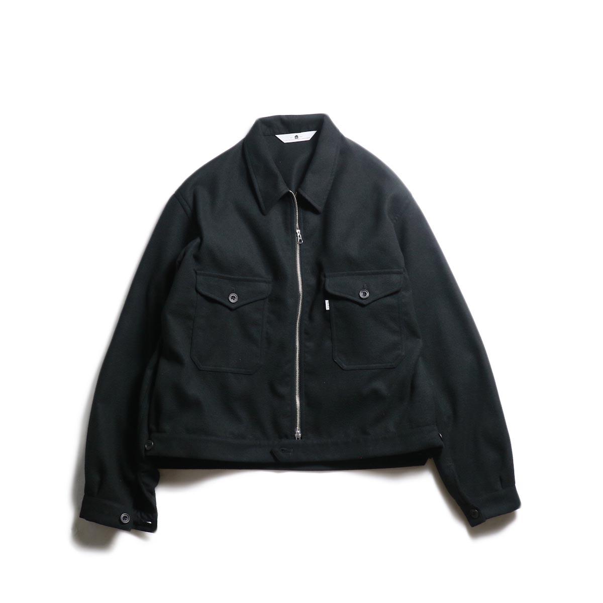 SGGM / Worker Zip Blouson (Black)