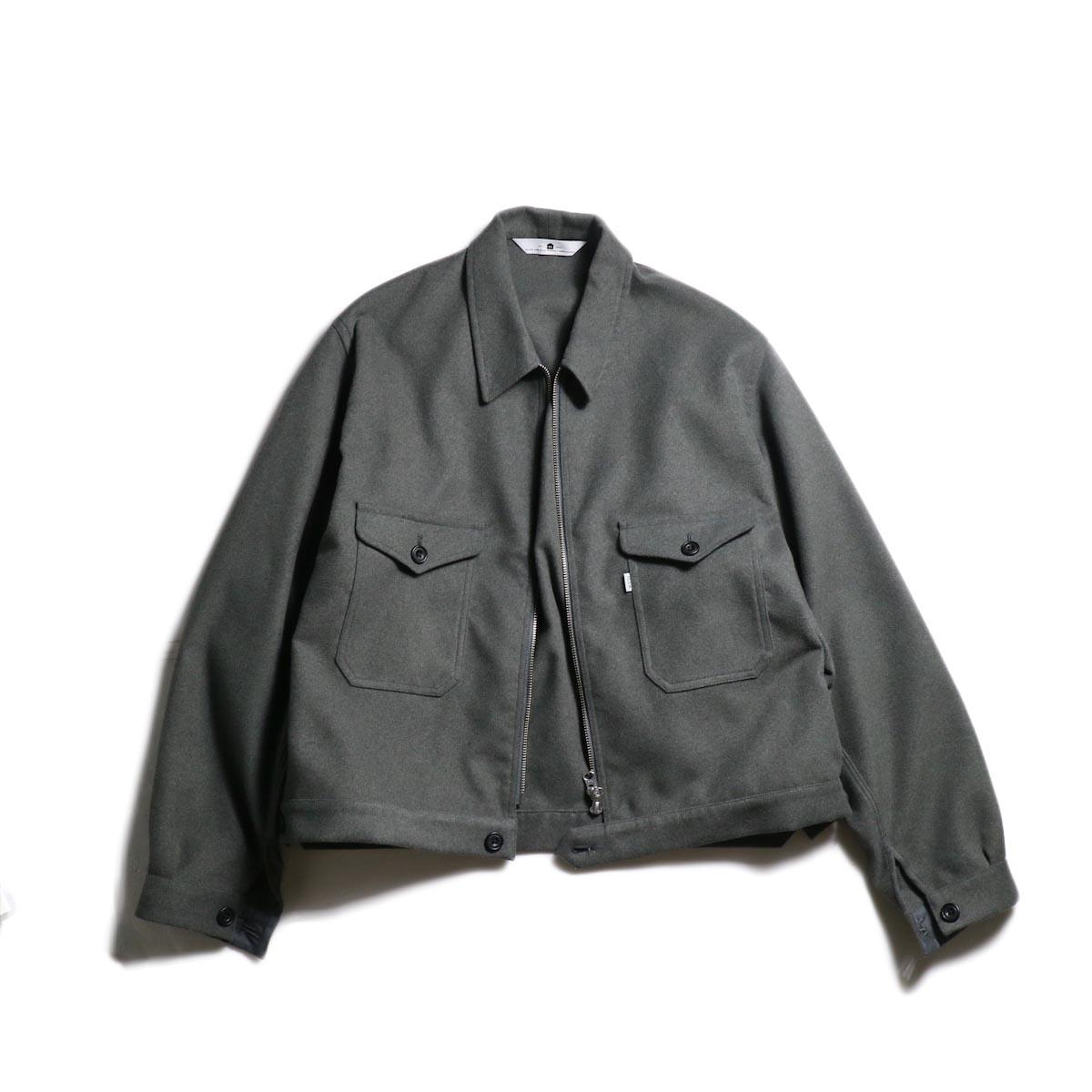 SGGM / Worker Zip Blouson (Charcoal)