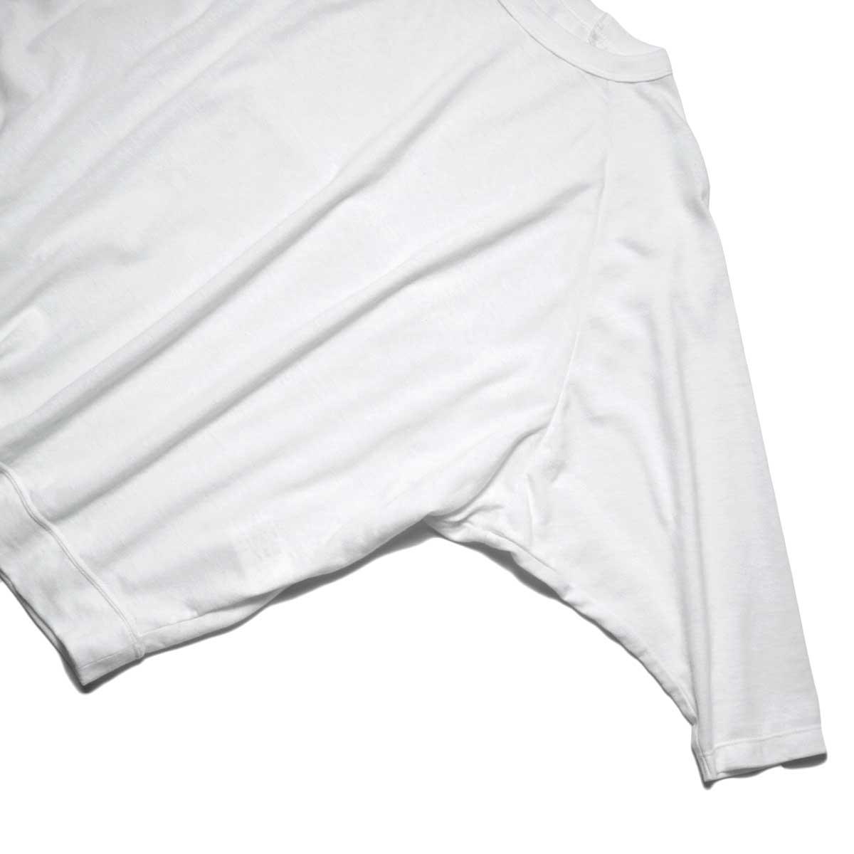 SOIL / DOLMAN SLEEVE CREW-NECK PULLOVER (Off White) ドルマンスリーブ