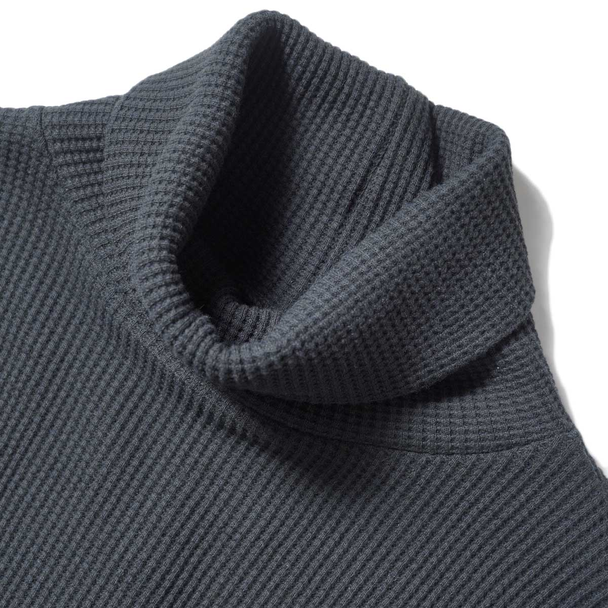 SOIL / TURTLE NECK L/SL (Black) ネック