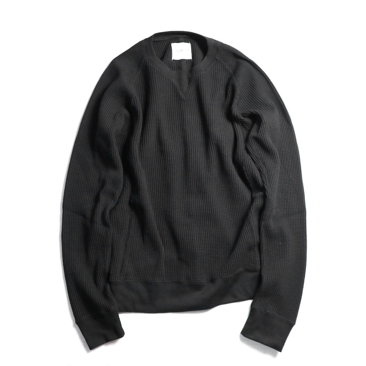 TheSoloist. / swc.0001bAW18 crew neck freedom l/s sweatshirt. (Black)