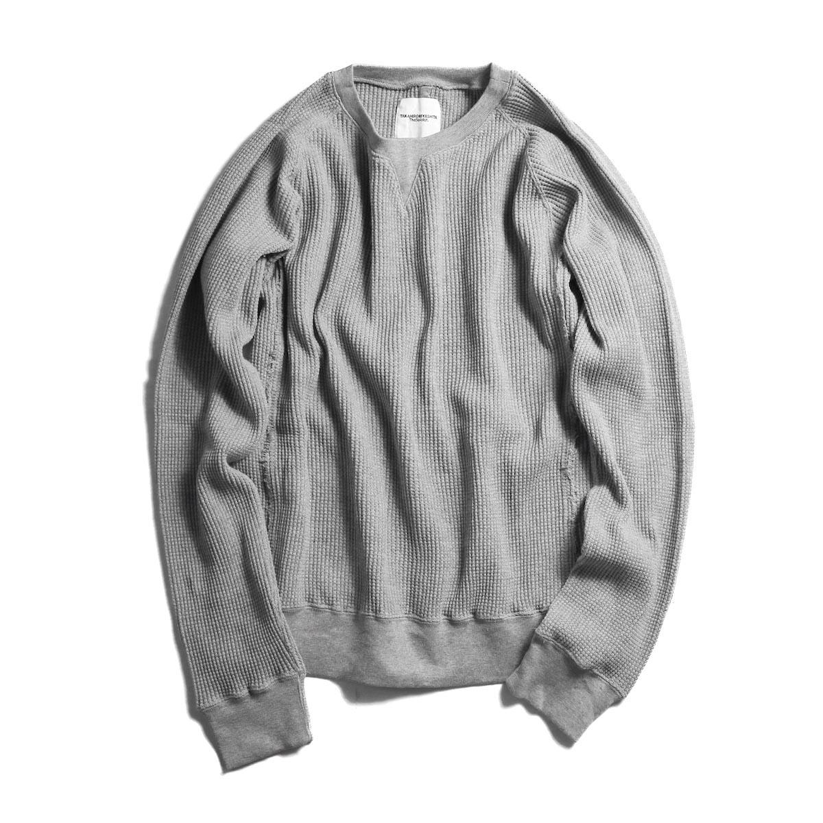 TheSoloist. / swc.0001bAW18 crew neck freedom l/s sweatshirt. (Gray)