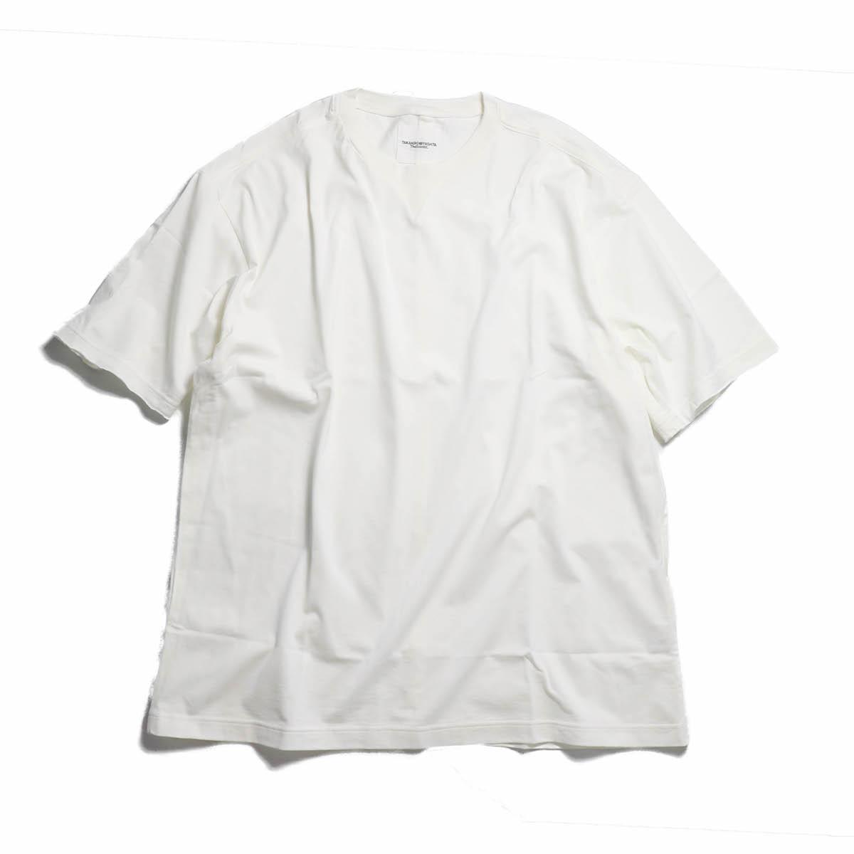 TAKAHIRO MIYASHITA The Soloist. / swc.0024aSS18 oversized crew neck s/s tee. -WHITE
