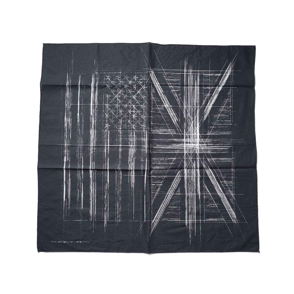 The Soloist / sa.0006AW21 huge bandana. (black)