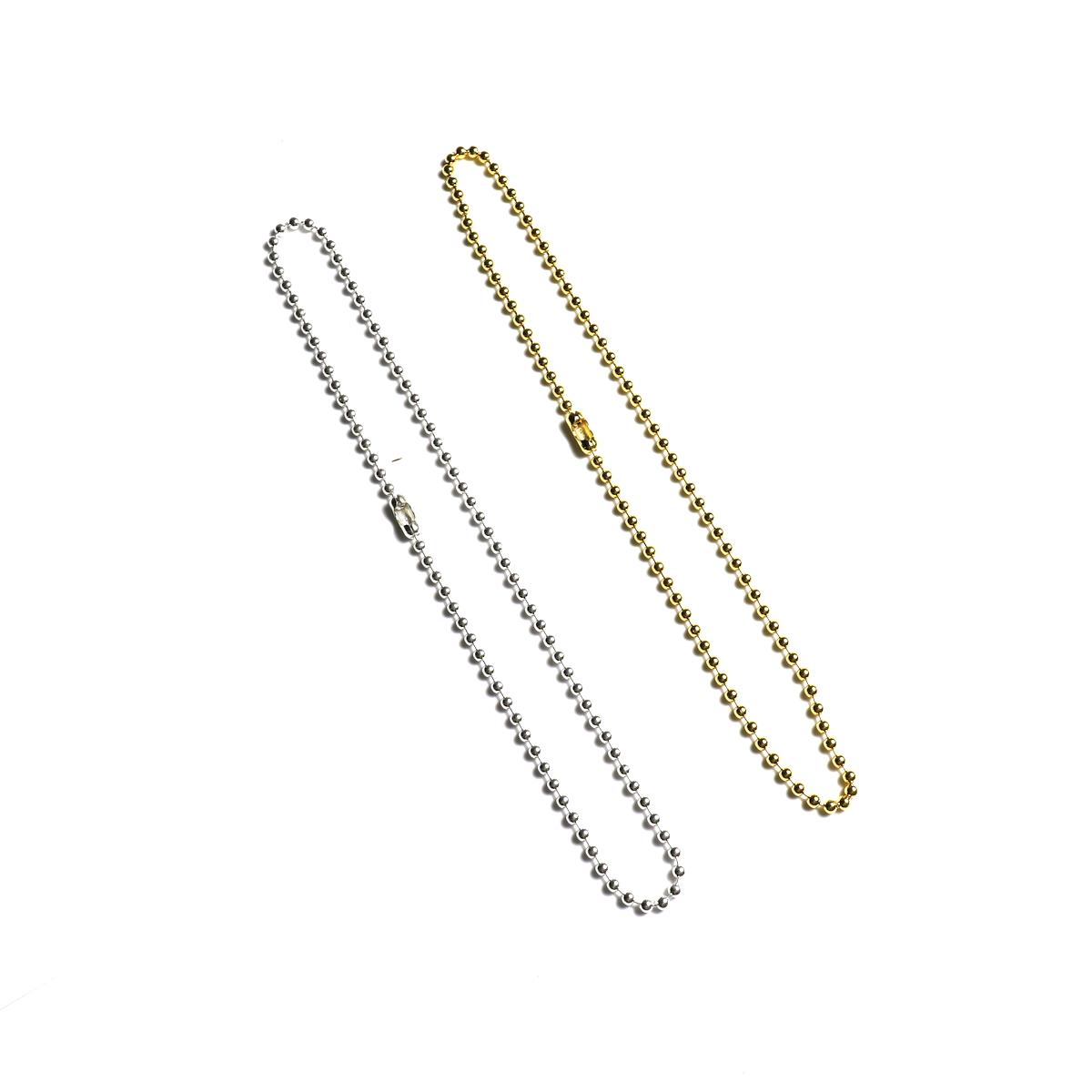 The Soloist / sa.0043SS20 ball chain necklace -S- regular.