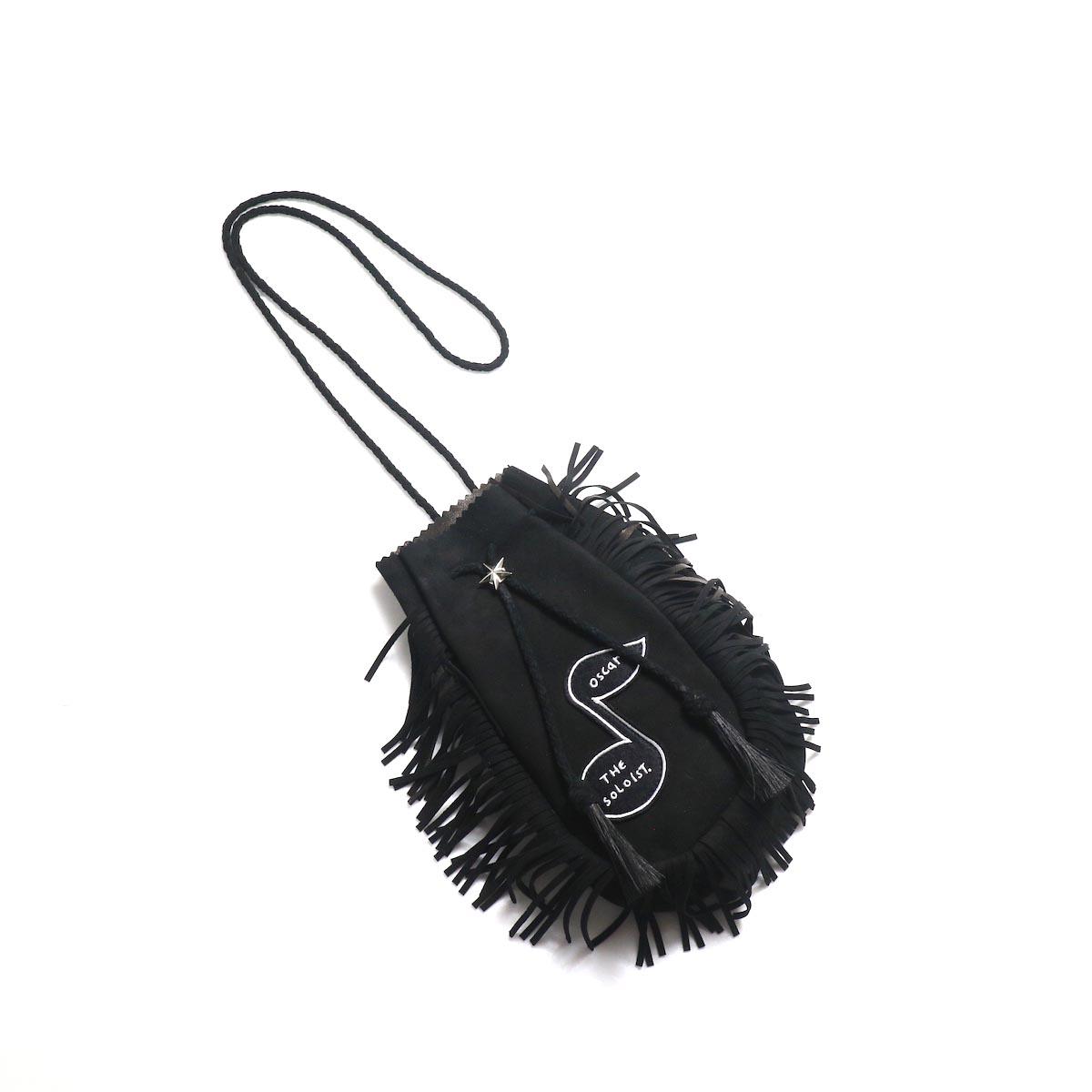 The Soloist / sa.0048SS19 medicine bag. -Black