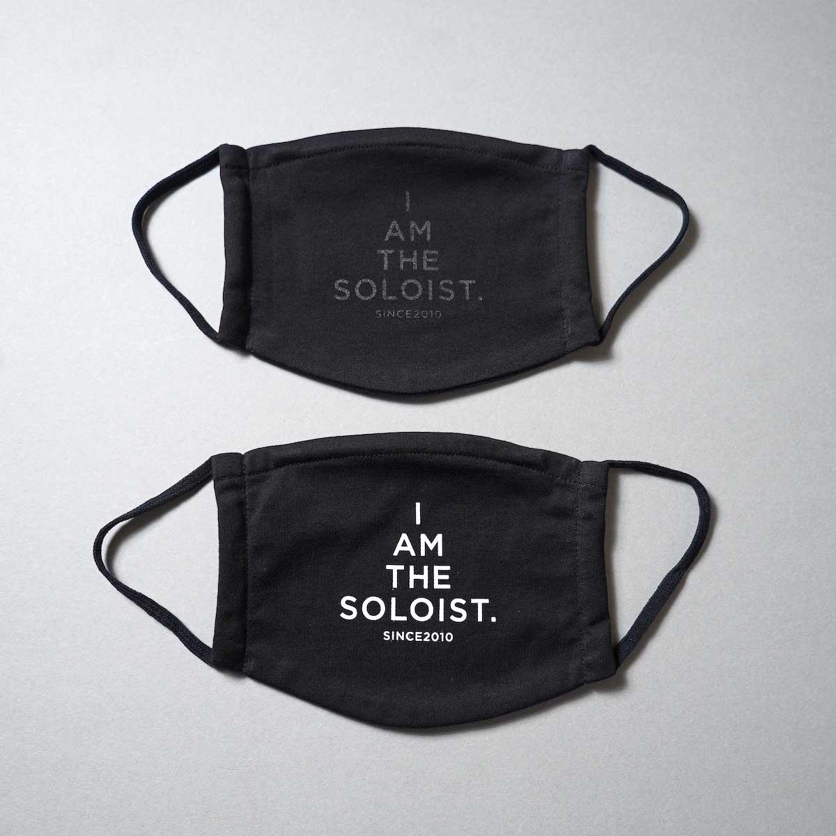 The Soloist / sa.0204AW21 signature face mask.