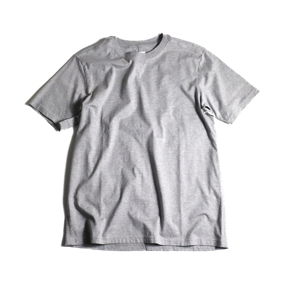 The Soloist / swc.0007a crew neck s/s tee (Gray)正面