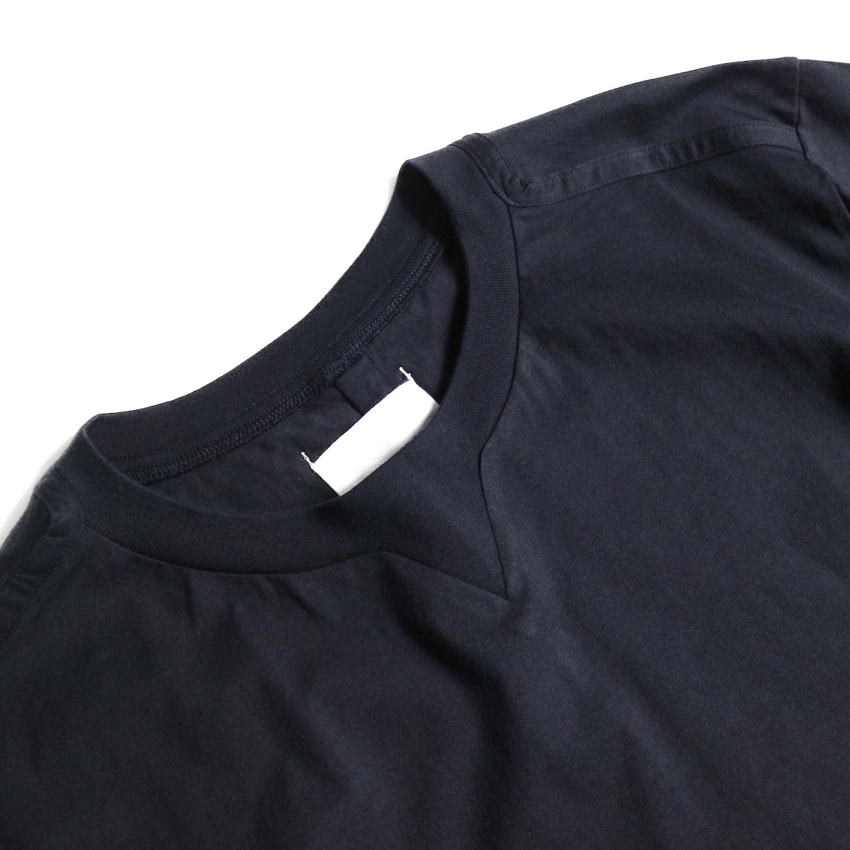 The Soloist / swc.0007a crew neck s/s tee (Midnight)ガセット