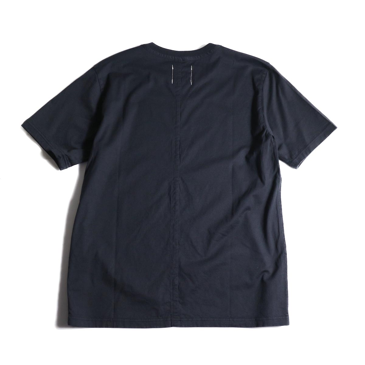 The Soloist / swc.0007a crew neck s/s tee (Midnight)背面