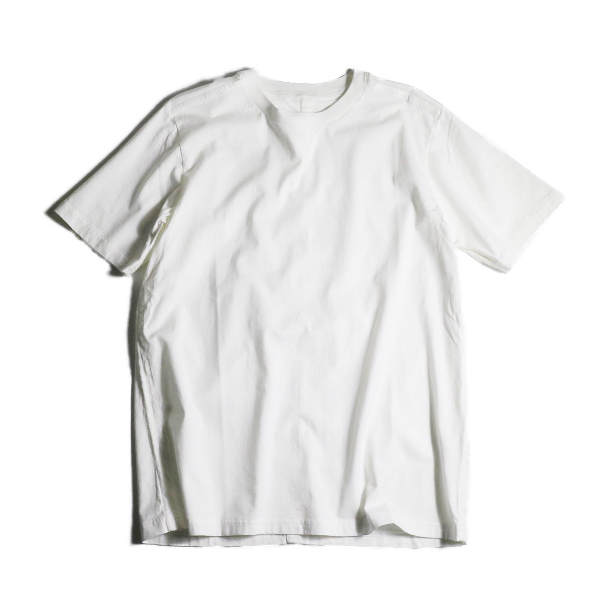 The Soloist / swc.0007a crew neck s/s tee (White)