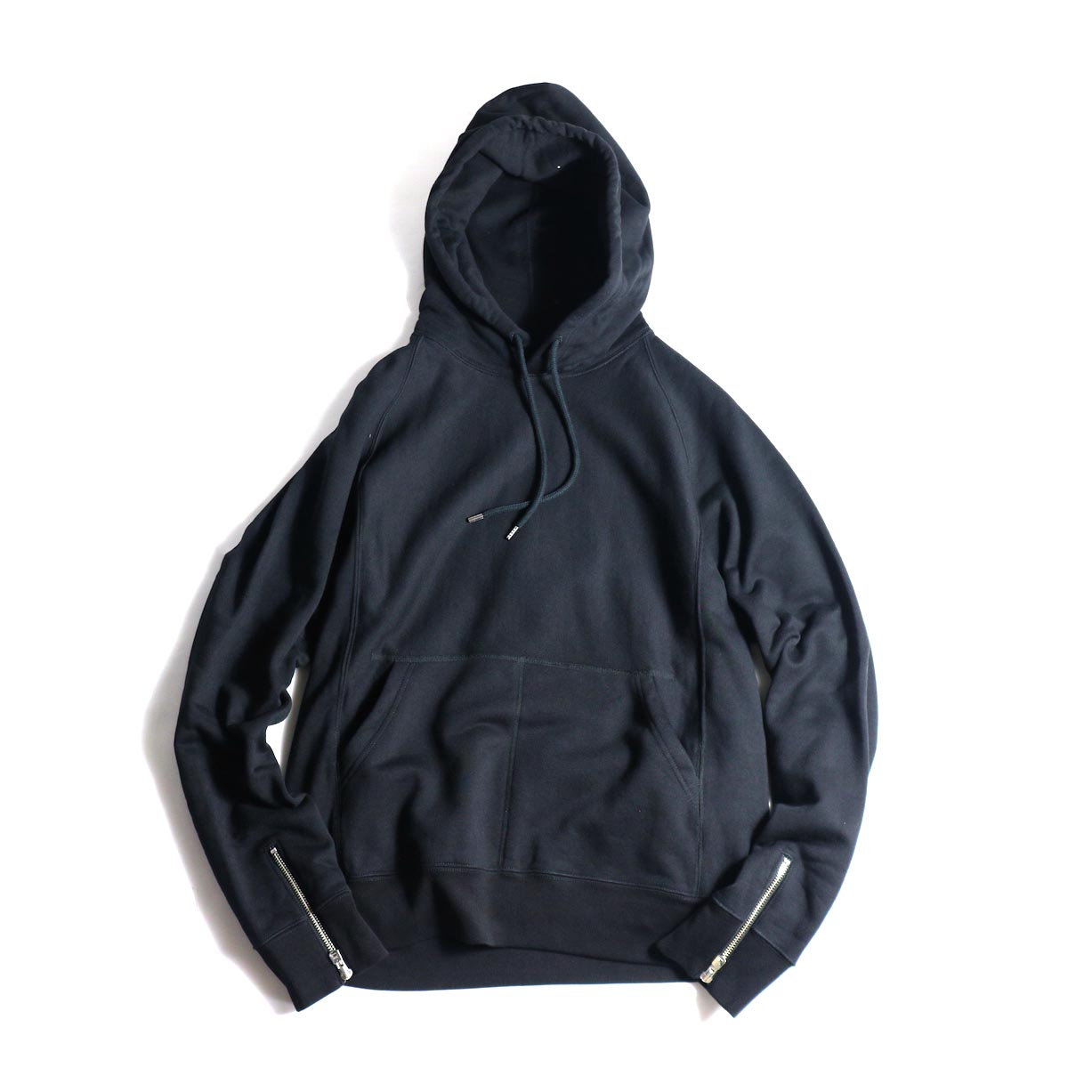 The Soloist / sc.0015bAW20 pullover hoodie. (Black)正面