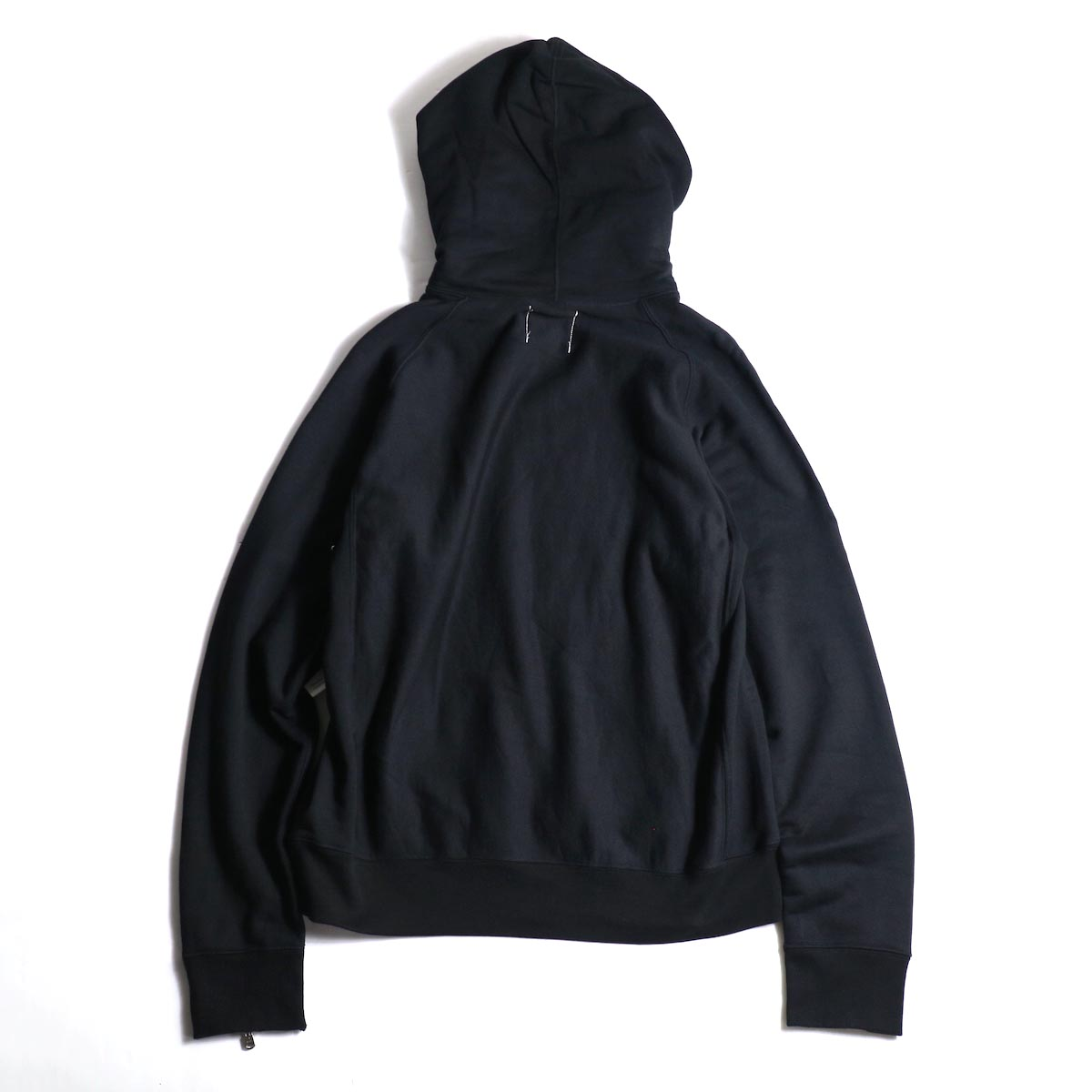 The Soloist / sc.0015bAW20 pullover hoodie. (Black)背面