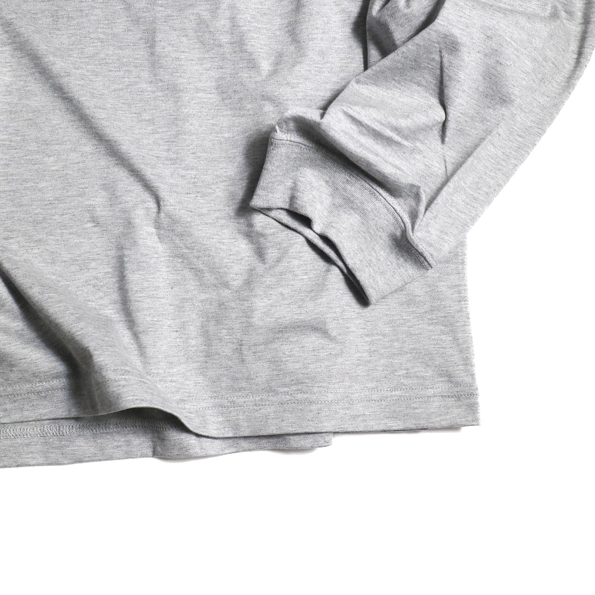 The Soloist / sc.0024AW20 oversized crew neck l/s tee. -ADALBERT-袖、裾