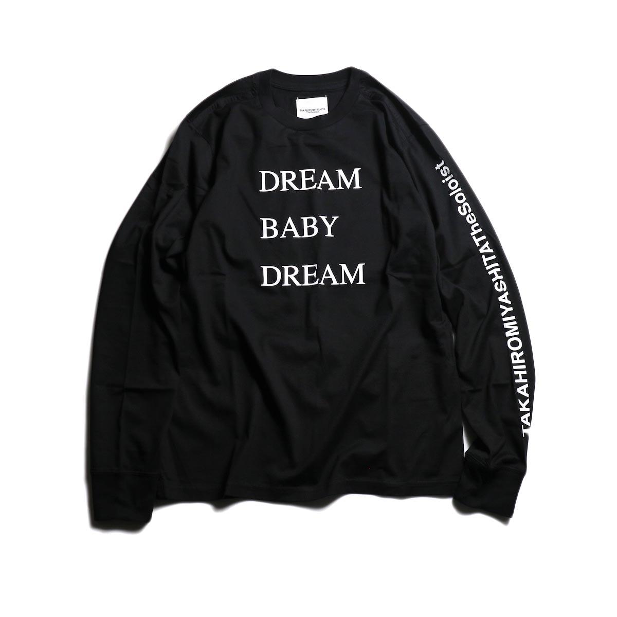 The Soloist / sc.0029AW19 DREAM BABY DREAM (long sleeve) -Black
