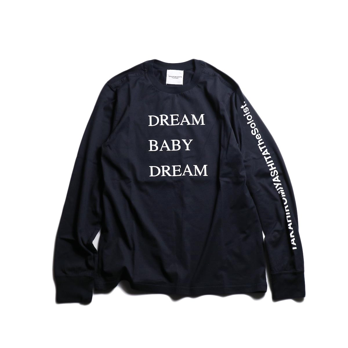The Soloist / sc.0029AW19 DREAM BABY DREAM (long sleeve) -Mid Night 正面