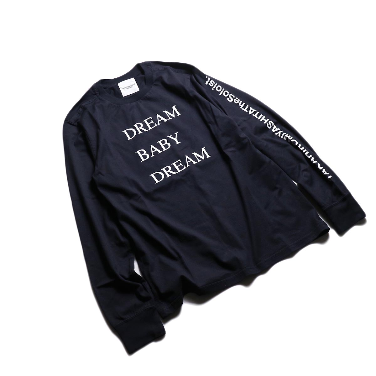 The Soloist / sc.0029AW19 DREAM BABY DREAM (long sleeve) -Mid Night 全体像