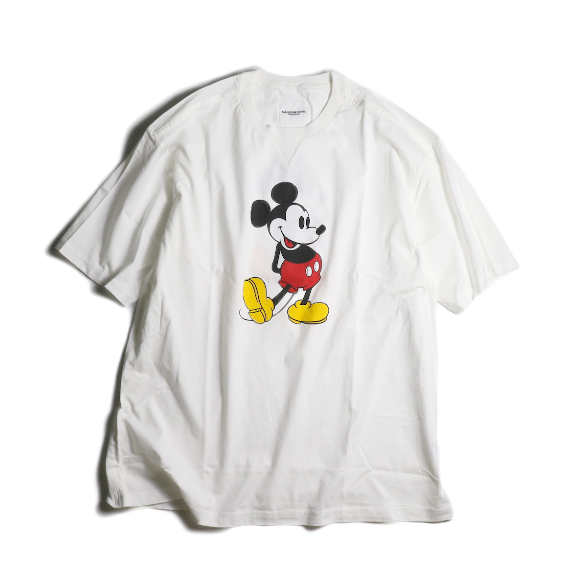 The Soloist / sc.0039aSS20 oversized Mickey Mouse crew neck s/s tee. (original color Mickey Mouse)(White×Original)