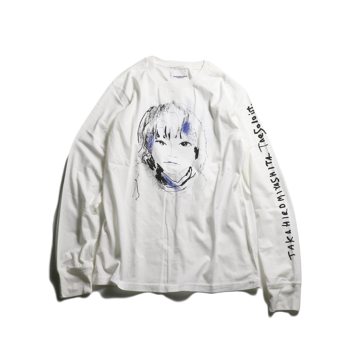 The Soloist / sc.0045AW19 OSCAR BY LEVI (long sleeve) -White 正面
