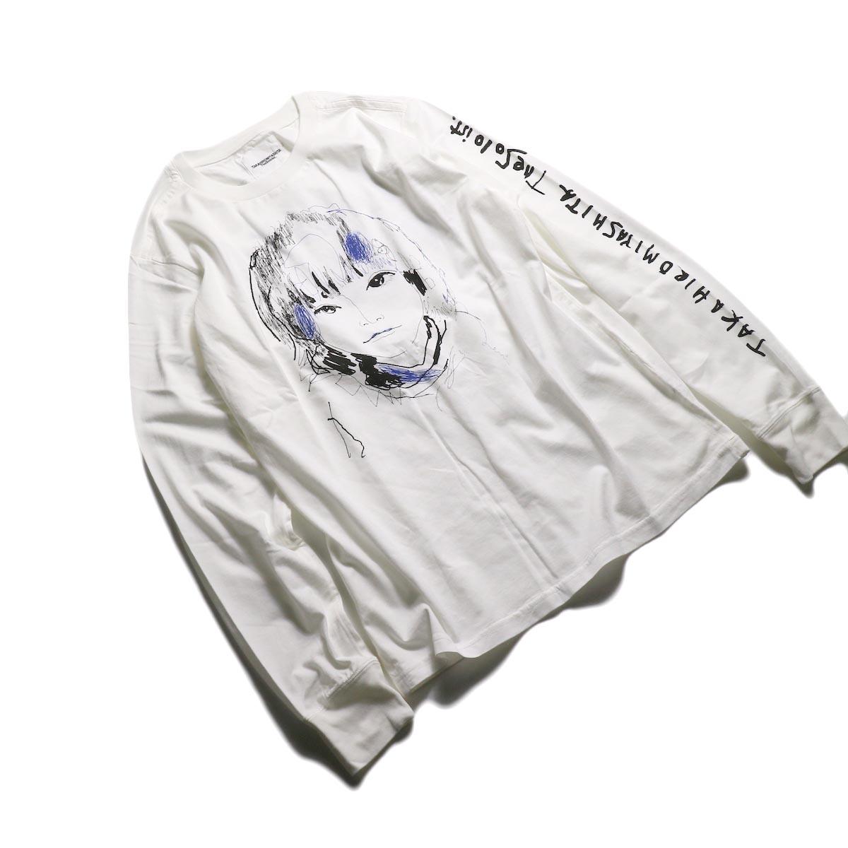 The Soloist / sc.0045AW19 OSCAR BY LEVI (long sleeve) -White 全体像