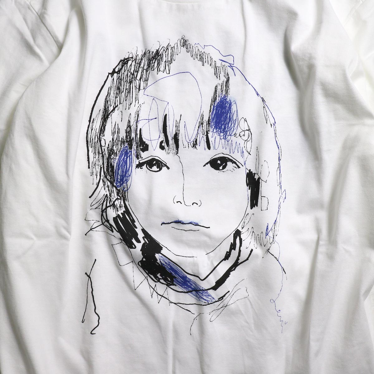 The Soloist / sc.0045AW19 OSCAR BY LEVI (long sleeve) -White プリント