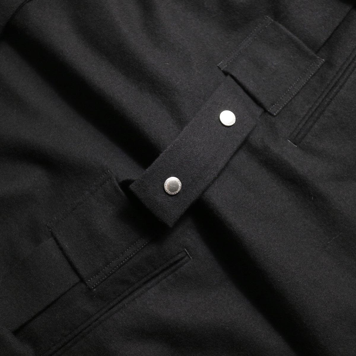 The Soloist / sj.0023b crew neck strapped medical jacket.ストラップベルト