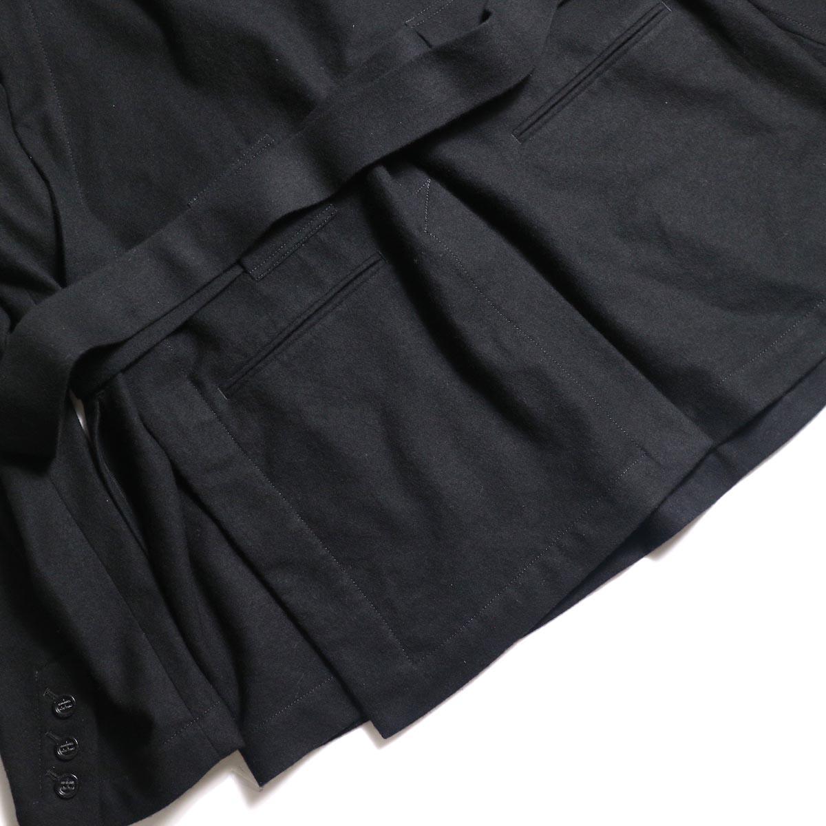 The Soloist / sj.0023b crew neck strapped medical jacket.サイドベンツ
