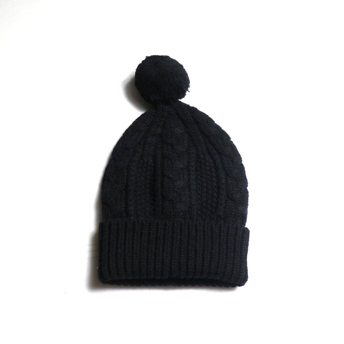 The Soloist / sk.0009AW19 ski cap. -Black