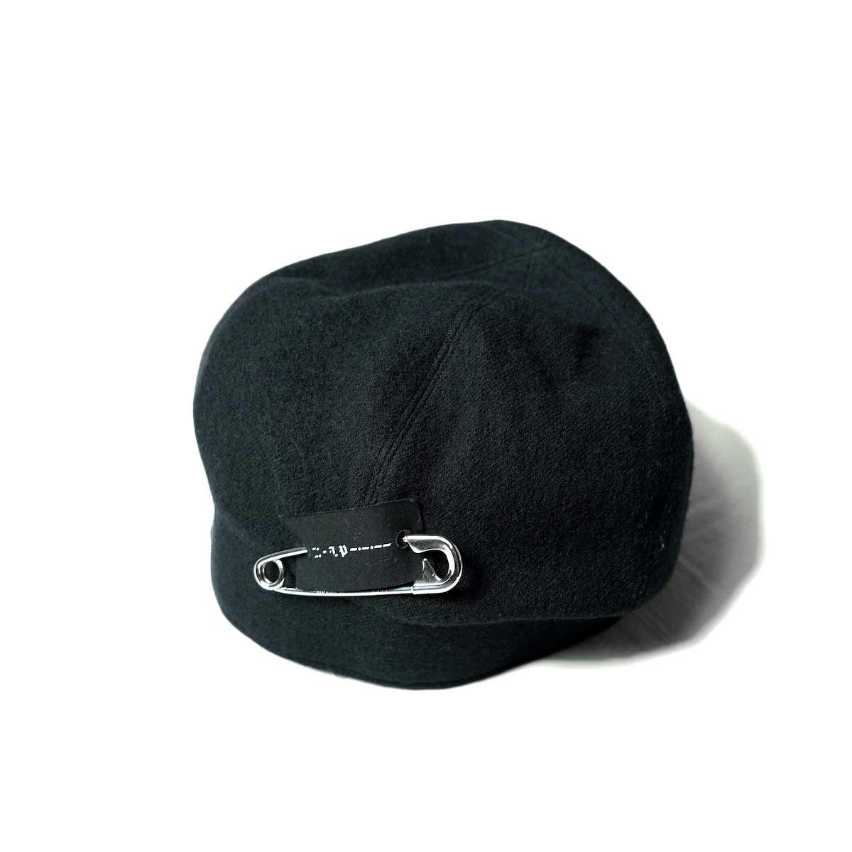 The Soloist / ska.0003AW21 huge watch cap. (Black)