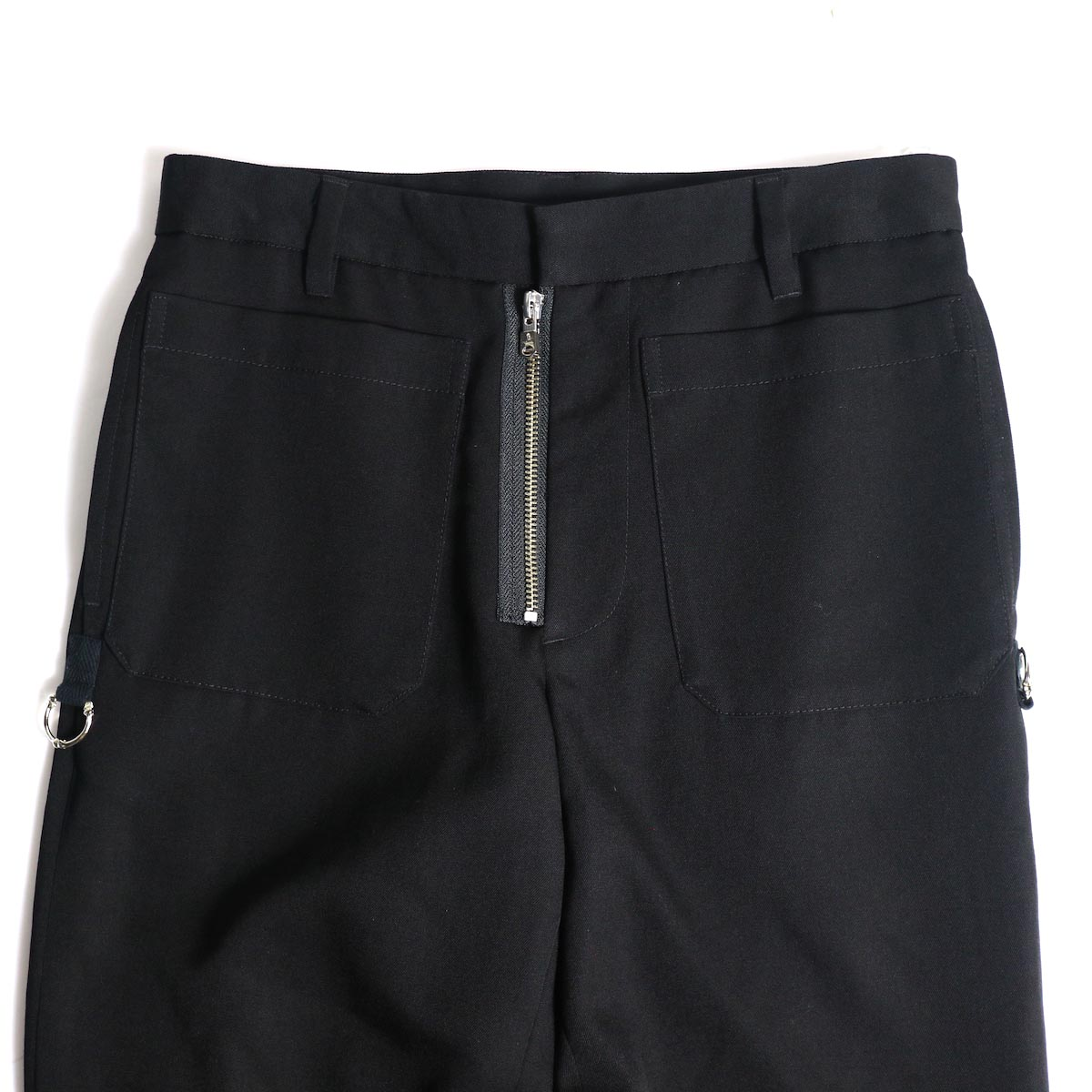 The Soloist / sp.0007bAW20 patch pocket pant. ウエスト