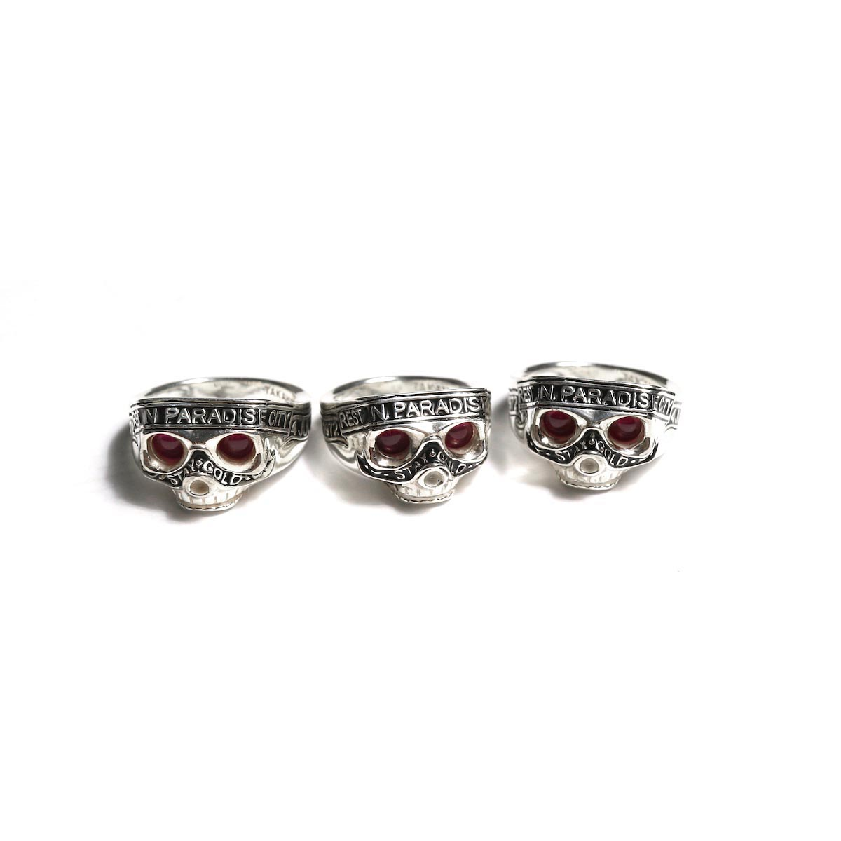The Soloist × RATS / sratsa.0002 skull ring.