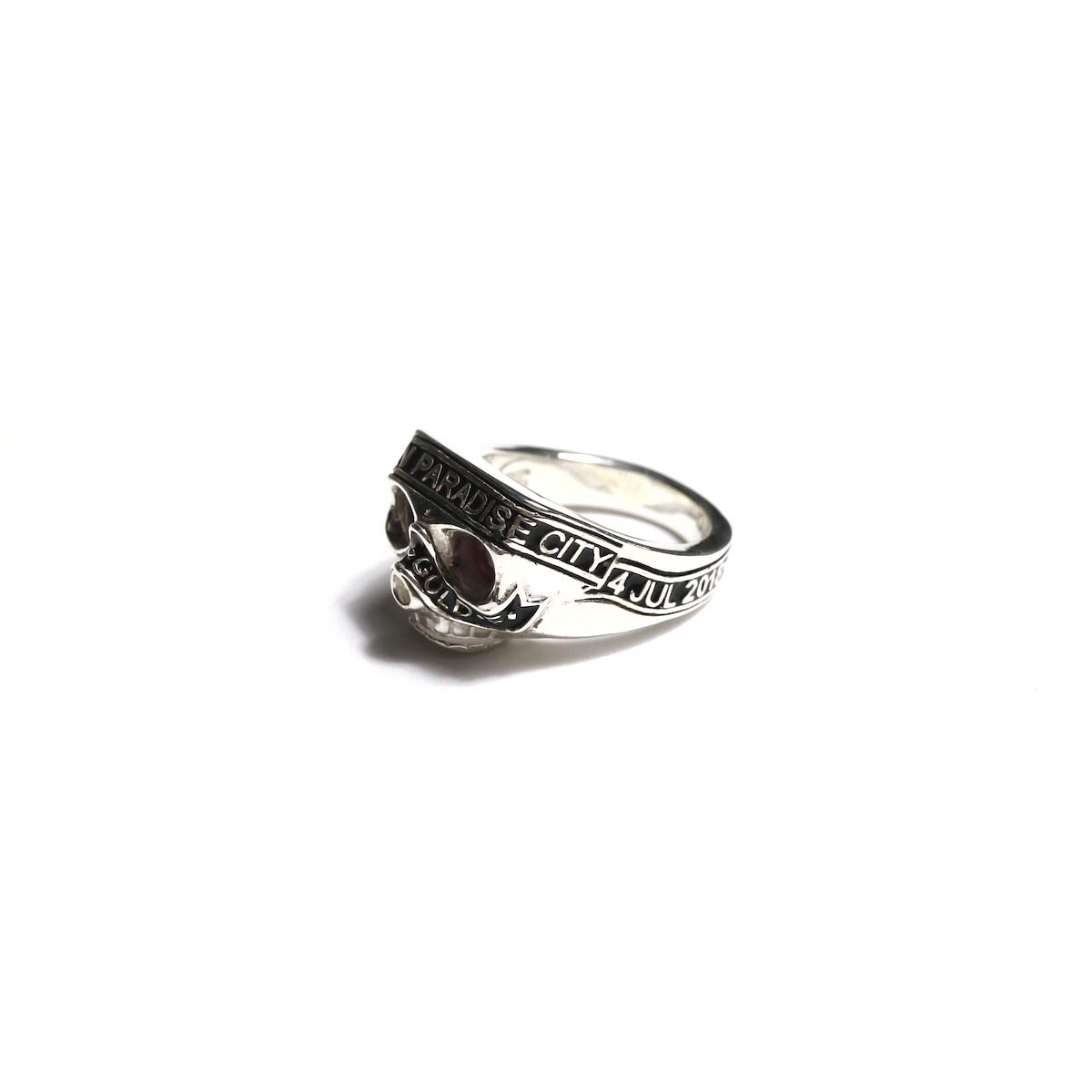 The Soloist × RATS / sratsa.0002 skull ring. サイドから②