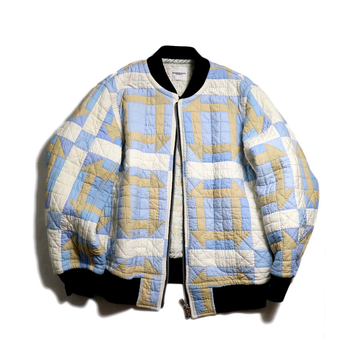 The Soloist / sw.0162 Vintage Quilt Flight Jacket.
