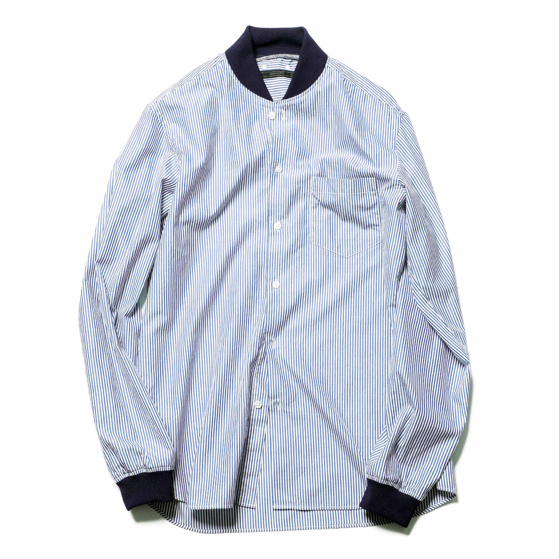 SOPHNET. / STADIUM SHIRT -Navy