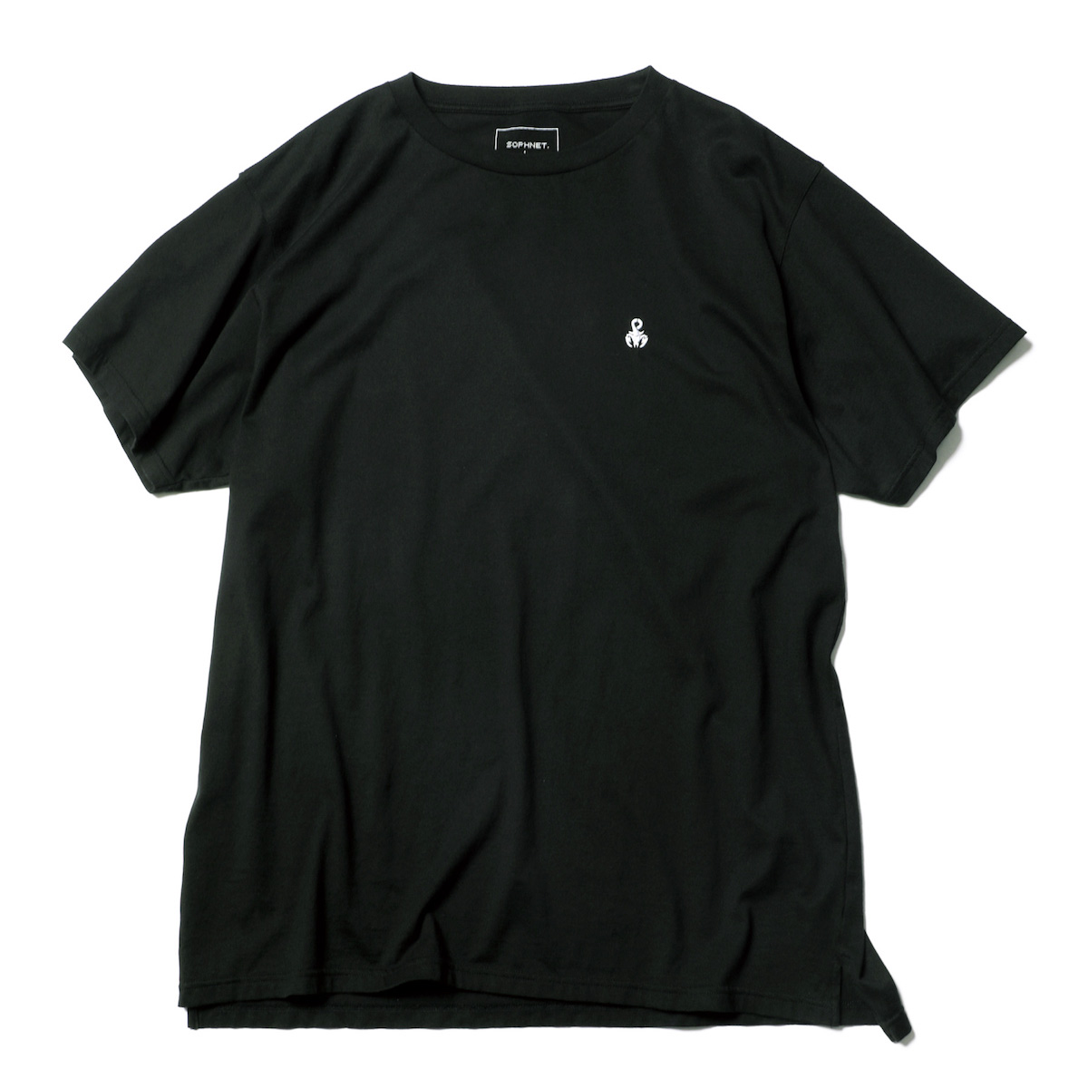 SOPHNET. / SCORPION ONE POINT BIG TEE -Black