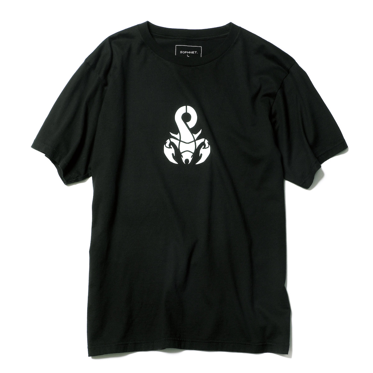 SOPHNET. / AUTHENTIC SCORPION TEE -Black