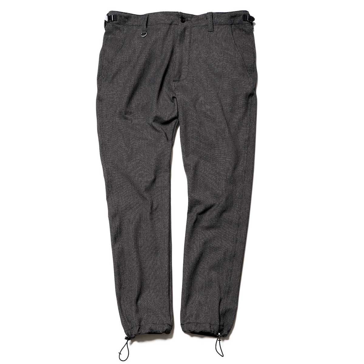 SOPHNET. / SLIM FIT DRAWSTRING PANTS -Charcoal Gray