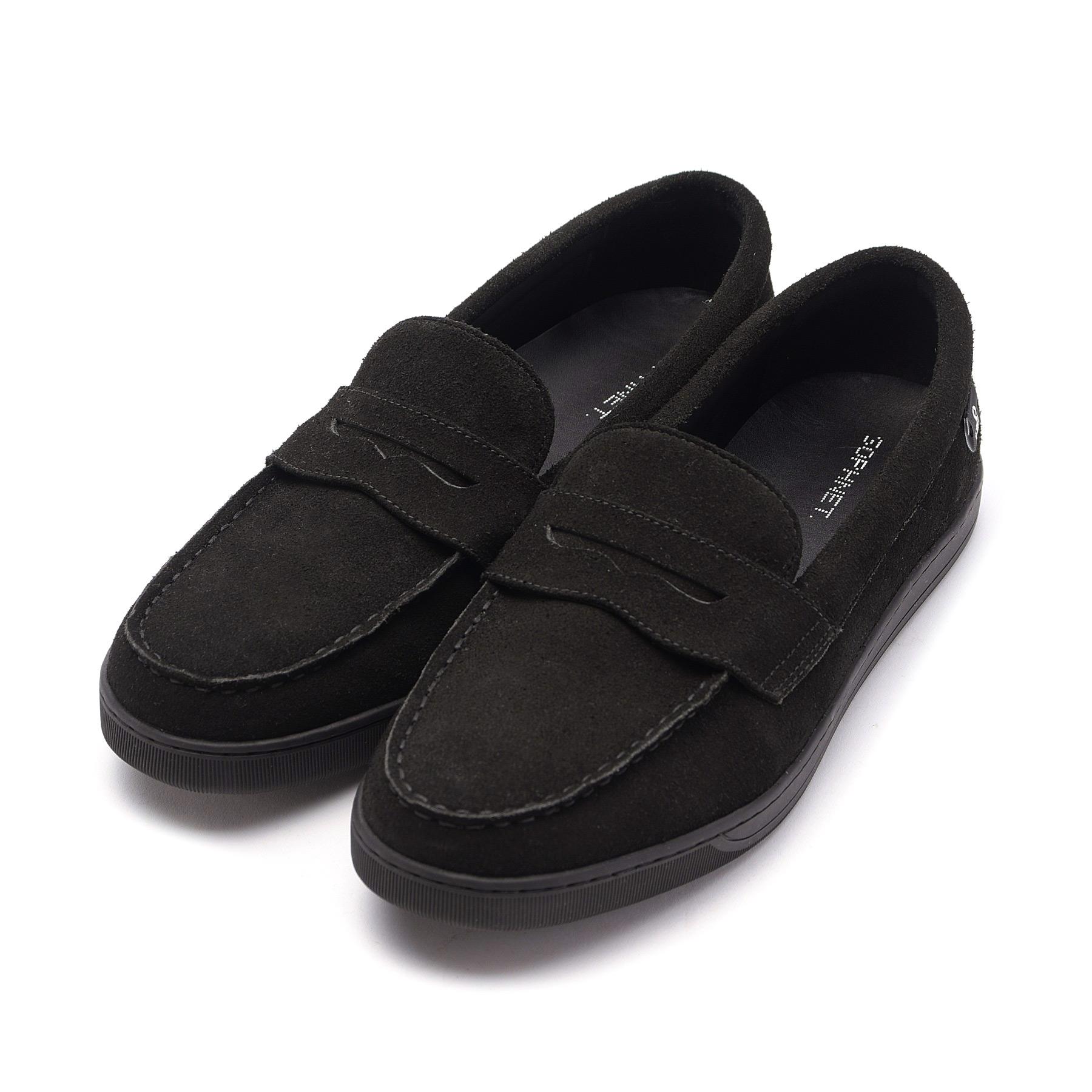 SOPHNET. / LOAFER SNEAKERS (Black)