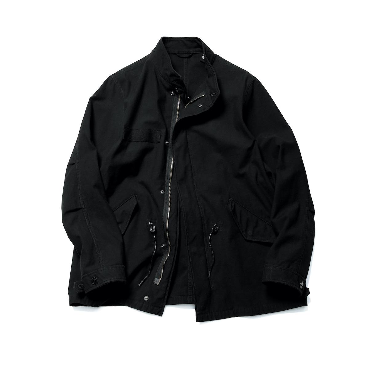 SOPHNET. / STAND COLLAR FIELD BLOUSON (Black)