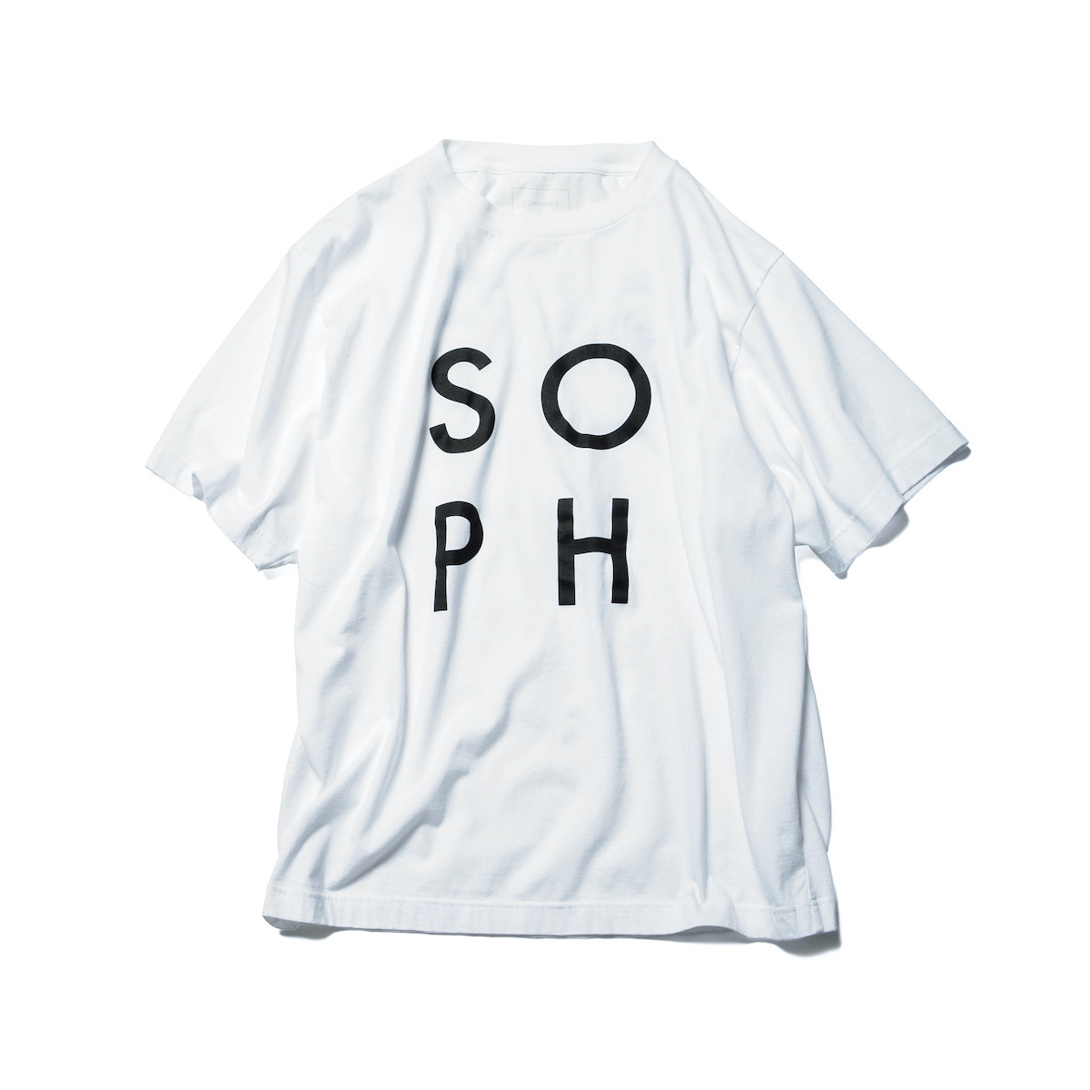 SOPHNET. / GRAPHIC WIDE TEE (White)