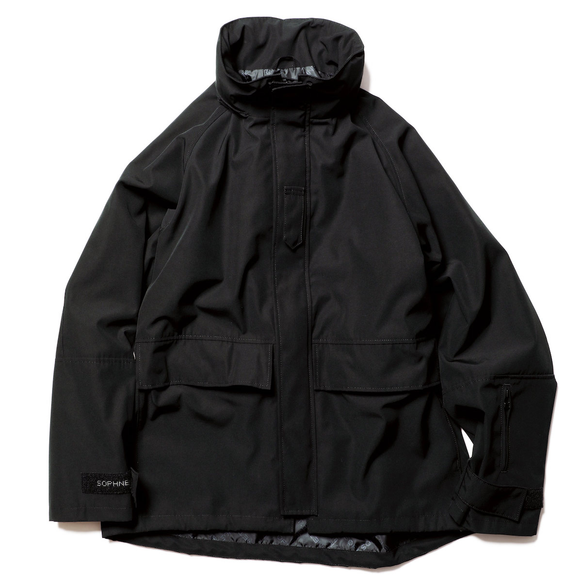 SOPHNET. / TACTICAL BLOUSON -Black