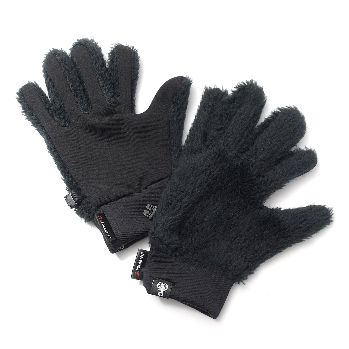SOPHNET. / POLARTEC HIGH LOFT GLOVES (Black)
